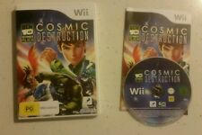 Ben 10 Ultimate Alien Cosmic Destruction Nintendo Wii - Complete- Free Post! VGC
