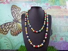 Markenlose Modeschmuck-Halsketten & -Anhänger aus Perlen mit Gemischte Themen für Damen