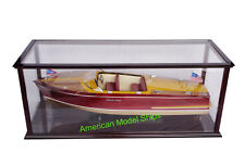 "Display Case Self-assemble Ship included Acrylic for Speed Boats  26"" - 28"""