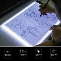 A5 LED Tracing Light Box Board Art Tattoo Drawing Copy Pad Table Stencil Display