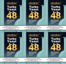 6 Alcotec Pure 48h Turbohefe, bis 21%  Alkohol; Gärhefe Brennhefe Trockenhefe