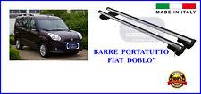 Kit Barre Portatutto -Portapacchi -Portabagagli - FIAT Doblo'  dal 01/2010>2015