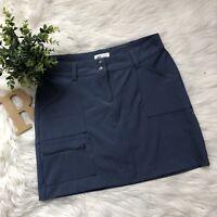 World Wide Sportsmen Athleta Women Blue Golf Skirt Short Skort SZ 4
