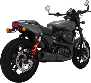 Vance & Hines Hi-Output Black Slip-On Exhaust Harley Street Rod XG500/750 47943