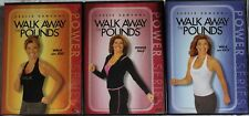 3 Leslie Sansone Walk Away the Pounds DVD lot and jog power mile kick workout