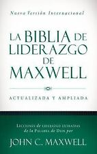 La Biblia de liderazgo de Maxwell NVI Spanish Edition