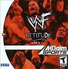 WWF WWE Attitude NEW factory sealed Sega Dreamcast