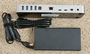 OWC Thunderbolt 3 Dock 14 Port Micro SD USB C Mini DisplayPort Mac OWCTB3DK14PSG