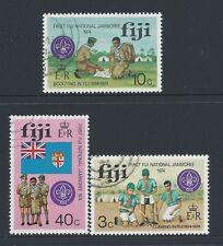 1974 FIJI SCOUTING JAMBOREE & ANNIVERSARY SET OF 3 FINE USED/CTO