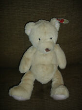 MARKS AND SPENCER M&S MY FIRST PINK BEAR BEIGE TEDDY SOFT TOY BNWT 6479 305