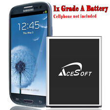 6070mAh Replacement Battery For Verizon Samsung Galaxy S3 Iii Sch-I535 Cellphone