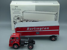 1st First Gear 1953  White 3000 Tractor Truck Burlington Route Die-Cast 18-1545