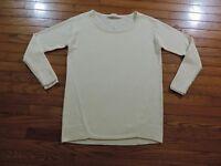 NWOT ATHLETA Merino Frisco Sweater Size Small Ivory