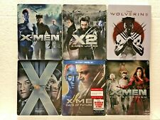 6 Sealed Blu-ray Steelbook ** X-MEN / X2 / WOLVERINE /  LAST STAND / FIRST CLASS