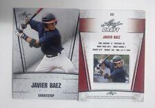 2011 Leaf Draft Silver Javier Baez Rookie Card Cubs