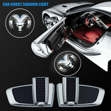 Led Car Door Logo Welcome Chargeable Projector Ghost Shadow Light For Dodge Ram