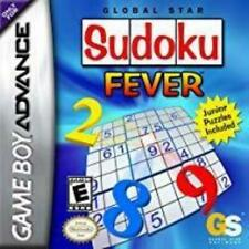 Sudoku Fever Game Boy Advance Game Used Complete