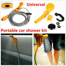 Portable Universal 12V Electric Car SUV Plug Outdoor Camper Caravan Clean Shower