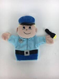 Target Hand Puppet PoliceMan With Flashlight