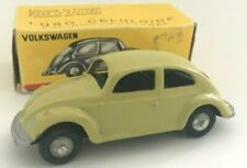 Vintage Metosul Portugal VW Volkswagen Beetle 1200 Pale Green in Original Box