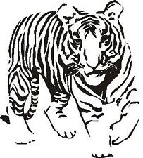 TIGER STANDING ANIMAL CAR DECAL STICKER