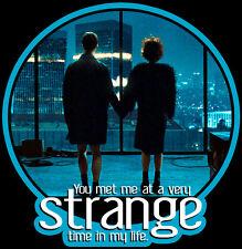 "90's Classic Fight Club Tyler & Marla ""Strange Time"" custom tee AnySize AnyColor"