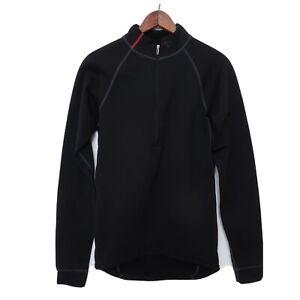 Pearl Izumi Men's LS Pro Thermal Jersey Size Large 1/4 Zip Mens Small Black