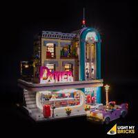 LIGHT MY BRICKS - LED Light kit for LEGO Downtown Diner 10260