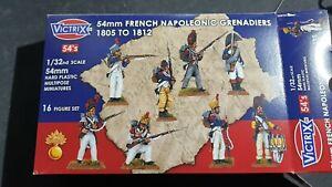 54mm French Napoleonic Grenadiers - 1805 - 1812 - Victrix