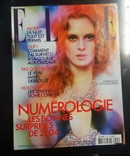 ELLE Magazine France Karen Elson December 22 2003 Jamel Debbouze