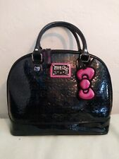 f20b81cb818a Hello Kitty Loungefly Large Dome Black Purse ~~ Hard to find ~~