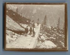 France, excursion à Chamonix  Vintage citrate print Tirage citrate  7x9