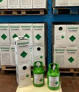 R134a 12Kg Pure 99.9% Min.Refrigerant EU Cylinder NEW 2021 Fast Shipping CLIMA