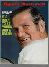 1971 Sports Illustrated George Blanda Oakland Raiders 7/19/1971 No Label