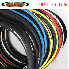 2Pcs MAXXIS Detonator 26*1.5'' MTB Bike Tyres Semi-slick Tread Tire 1Pair Tyre