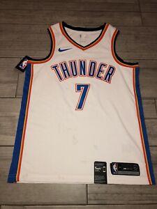 Carmelo Anthony #7 Oklahoma City Thunder Nike Jersey Sz 44 *NWT* White