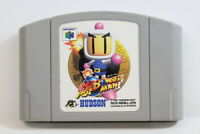 Baku Bomberman 1 64 Nintendo N64 Japan Import US Seller SHIP FAST E1142 C