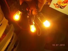 3 Vintage GE General Electric Bulbs marked only 250V 10W, C7 base, tested