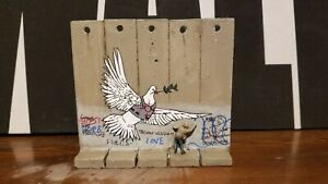 Banksy Defeated Dove & Peace Original Direct From The Walled Off Hotel Bethlehem