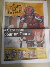 VELO : TOUR DE FRANCE : C'EST PARTI POUR UN TOUR - 30/06/2012 -