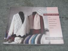 Stahman's Shawls and Scarves by Myrna A.I. Stahman signed knitting book