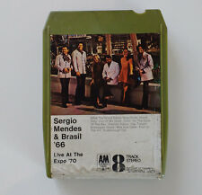 Sergio Mendes & Brasil '66 (Live at the Expo '70) 8 Track Cartridge Y8AM 989
