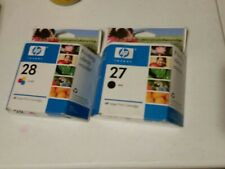 Hp 27 28 Ink Cartridge Expires 2006 Sealed New