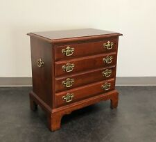Chippendale Style Cherry Chairside Chest / Nightstand by Hooker