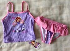 Baby Girls Disney Sofia The First Super Cute Bikini/Swim Tankini Set 2-3/24-36m