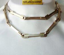 Seltene Lapponia Kette 925 Silber Finnland 1972 Modernist Halskette / BL 484