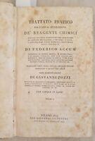 ACCUM TRATTATO PRATICO PER L'USO REAGENTI CHIMICI CHIMICA 1819 CHEMISTRY SCIENZA