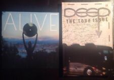 """Pearl Jam Ten Club ALIVE 7"""" vinyl Deep zine + Deep t-shirt men's XL exclusive"""