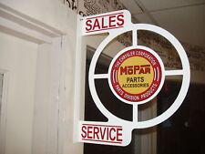 MOPAR PARTS - ACCESSORIES 1960S ERA WALL  FLANGE SIGN