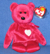 TY VALENTINA the BEAR BEANIE BABY - MINT TAGS -  RETIRED